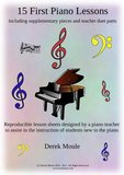 Fifteen First Piano Lessons